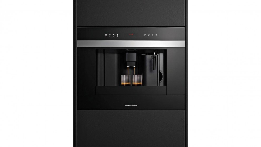 fisher u0026 paykel 60cm builtin coffee maker