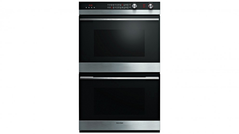Fisher & Paykel 760mm Pyrolytic Double Built-in Oven
