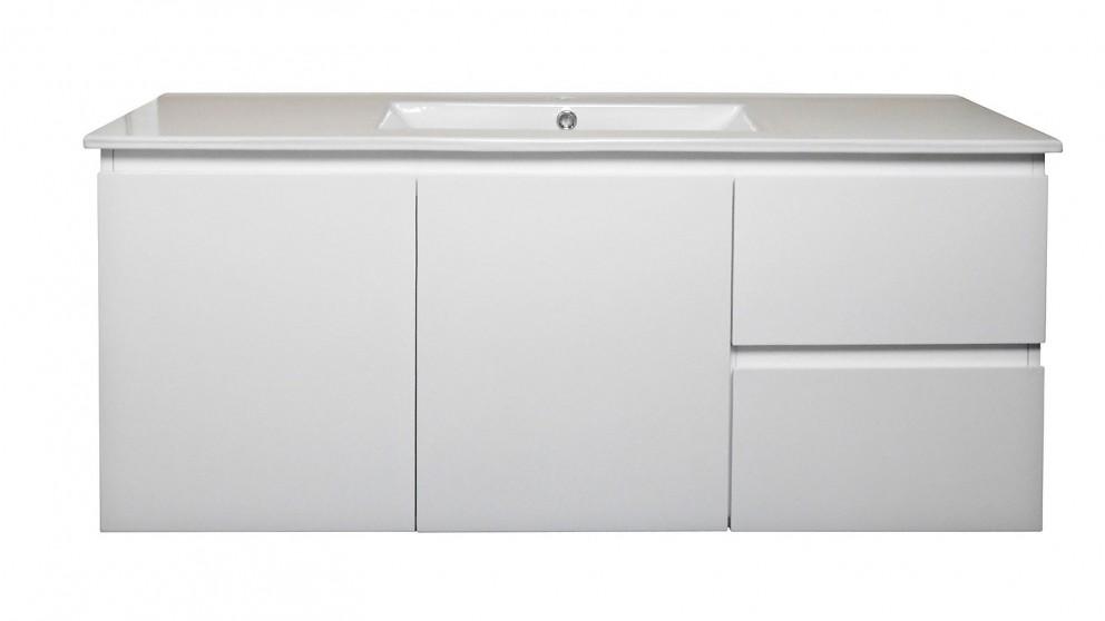 Vanity Bathroom Harvey Norman ledin havana1200mm ceramic benchtop vanity - bathroom vanities