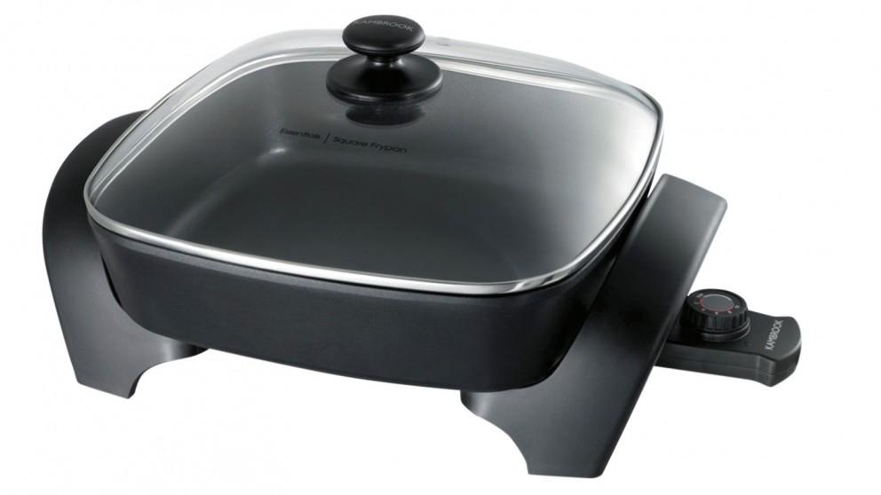 """Kambrook 12"""" Square Frying Pan"""