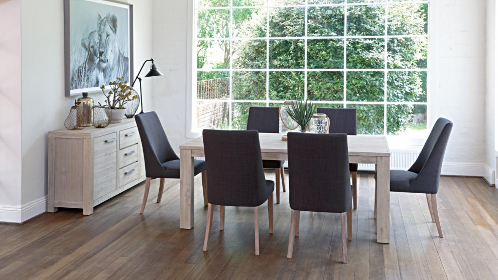 Key largo 7 piece dining suite dining furniture dining for Dining room tables harvey norman