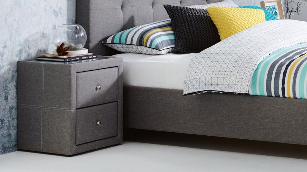 Buy Villa 2-Drawer Bedside Table | Harvey Norman AU