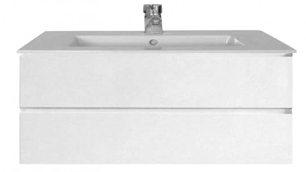 Vanity Bathroom Harvey Norman ledin havana 750mm ensuite drawer unit wall hung vanity - bathroom