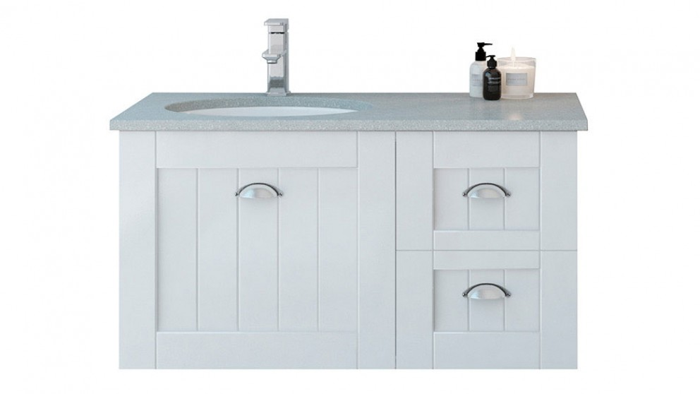 Timberline Norfolk 900mm Wall-Hung Vanity