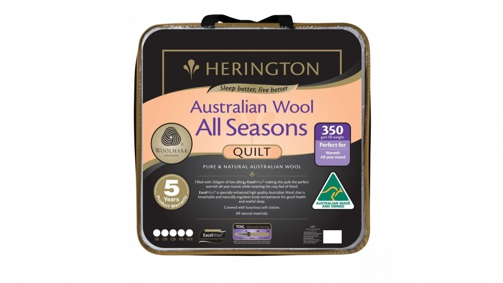 Herington All Seasons Quilt - Double