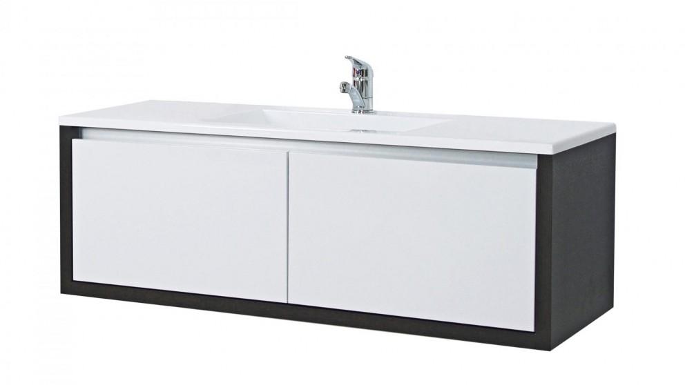 Timberline London 1200mm Wall Hung Alpha Vanity Bathroom Vanities Wall Hung Vanities