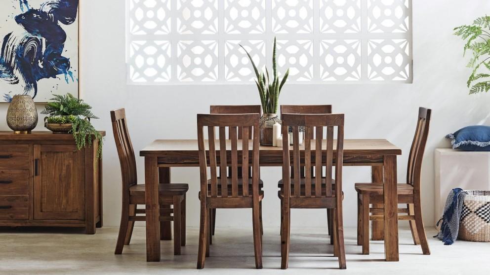 Cobar 7-Piece Rectangular Dining Setting