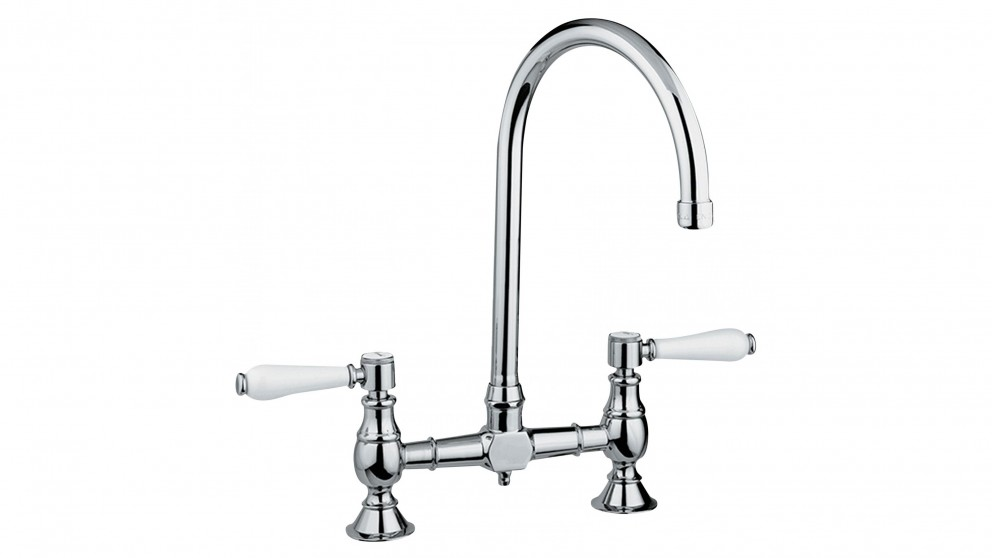 Armando Vicario Provincial Exposed Breach Kitchen Mixer