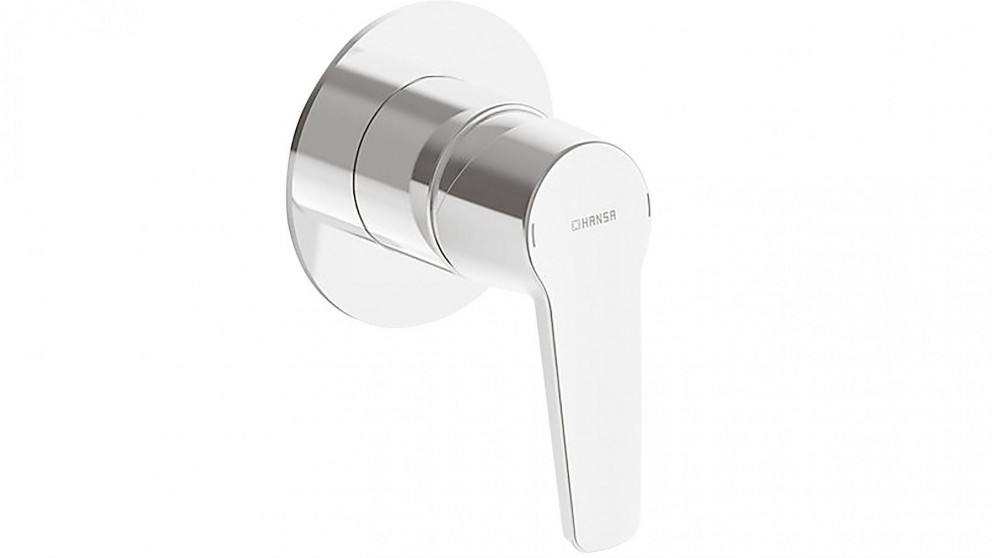 Hansa Polo Neu Round Shower or Bath Mixer with In-Wall Body