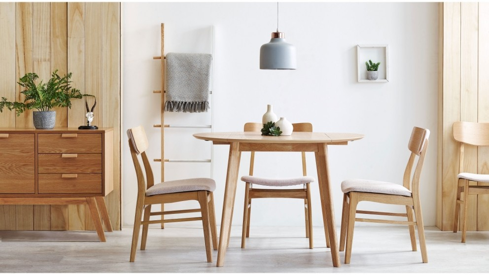 Cody 5-Piece Round Drop-side Dining Setting