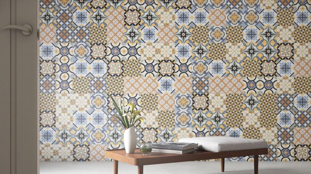 Buy Eliane Patchwork Ladrilho 200x200mm Artisan Ceramic Cushioned