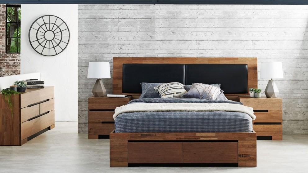 Buy Blaxton Extended Queen Bed Harvey Norman Au