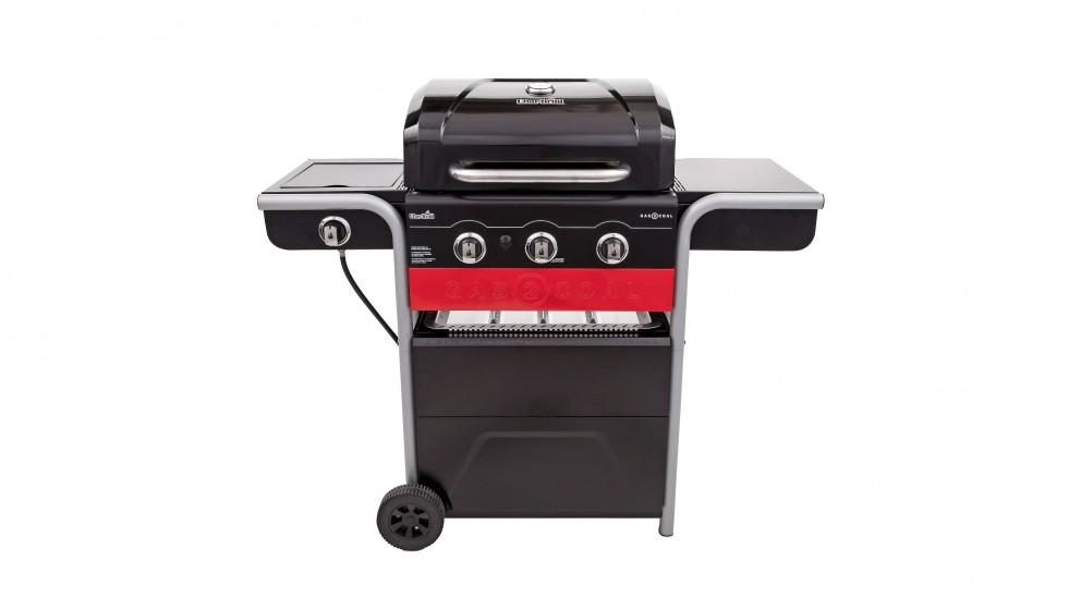 Buy Char-Broil Gas2Coal 3-Burner BBQ | Harvey Norman AU
