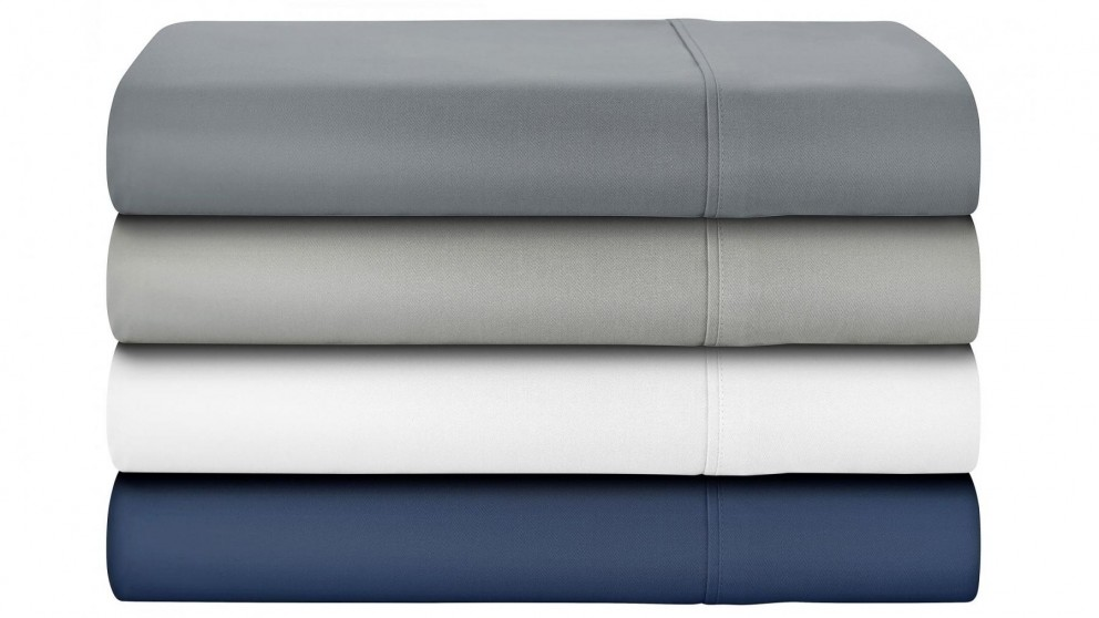 L'Avenue 500 Thread Count Bamboo/Cotton King Sheet Set - White