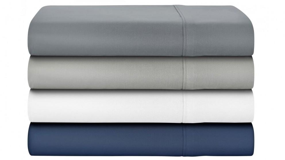 L'Avenue 500 Thread Count White Bamboo/Cotton Sheet Set