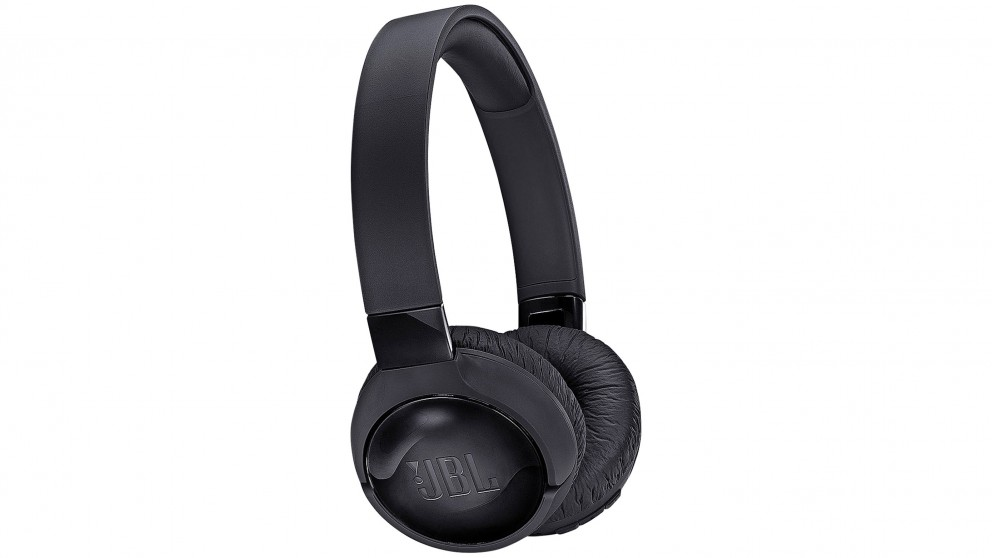 JBL T600BTNC Wireless On-Ear Headphones - Black