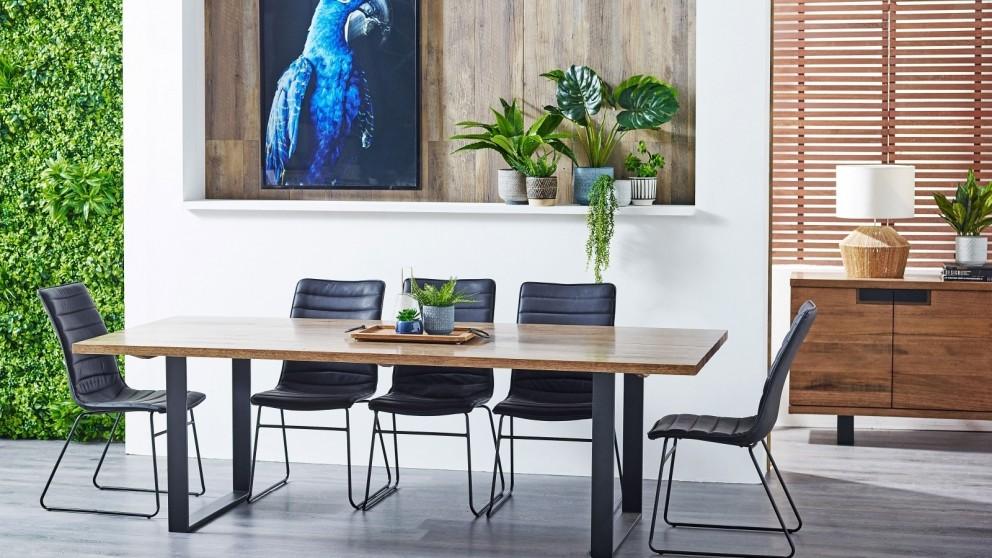 Strand 9-Piece Rectangular Dining Setting