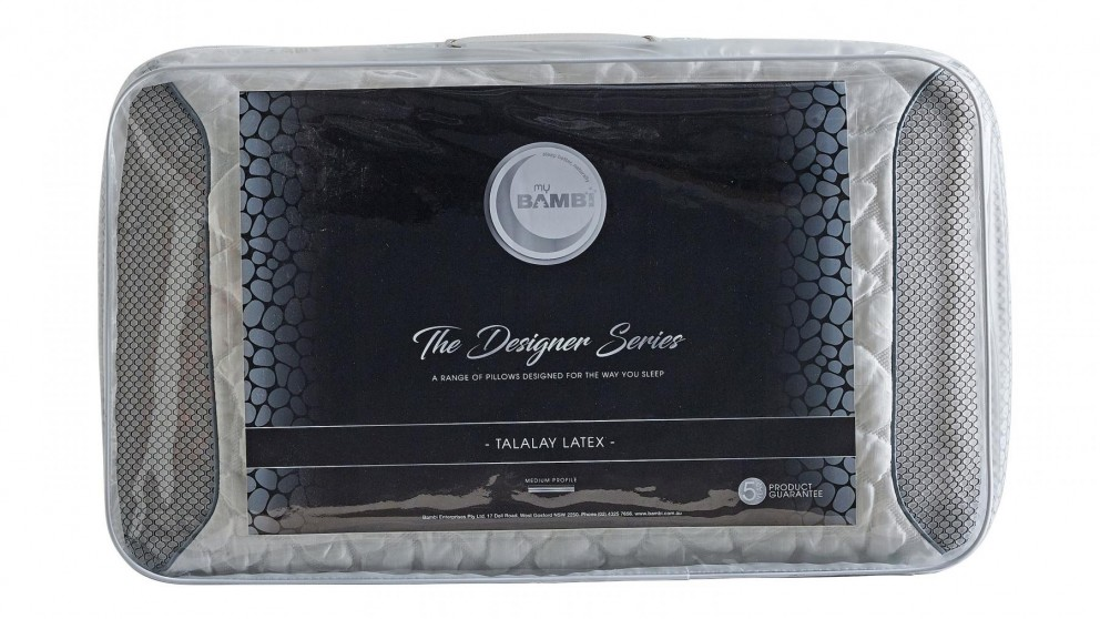 Designer Series Talalay Latex Pillow