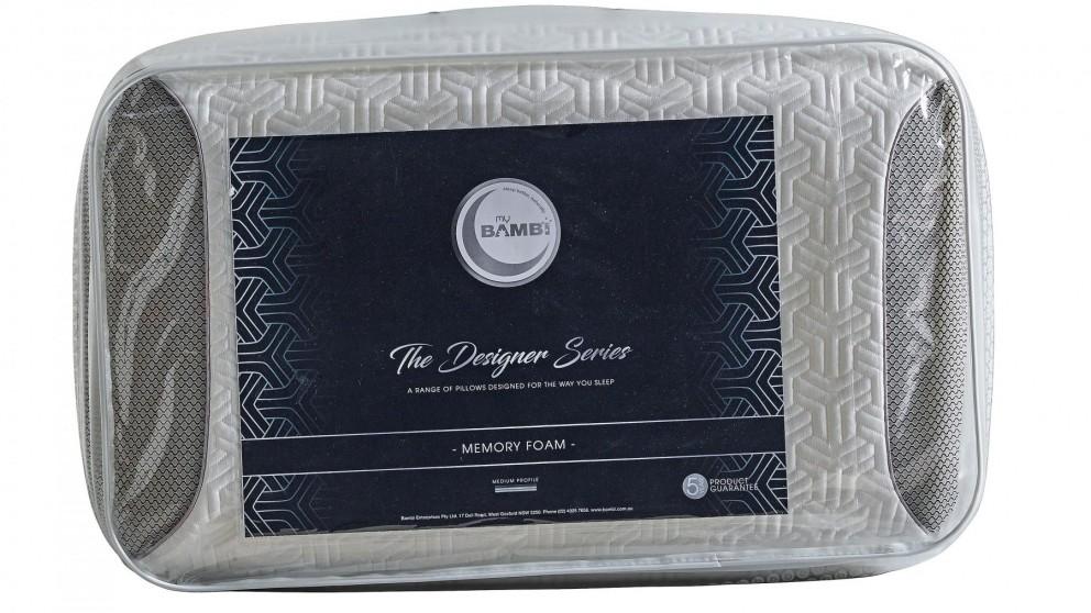Designer Series Memory Foam Pillow