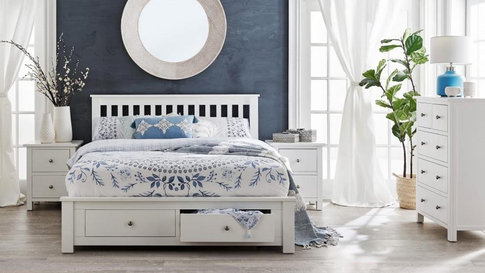 Winter 4-Piece Queen Bedroom Suite