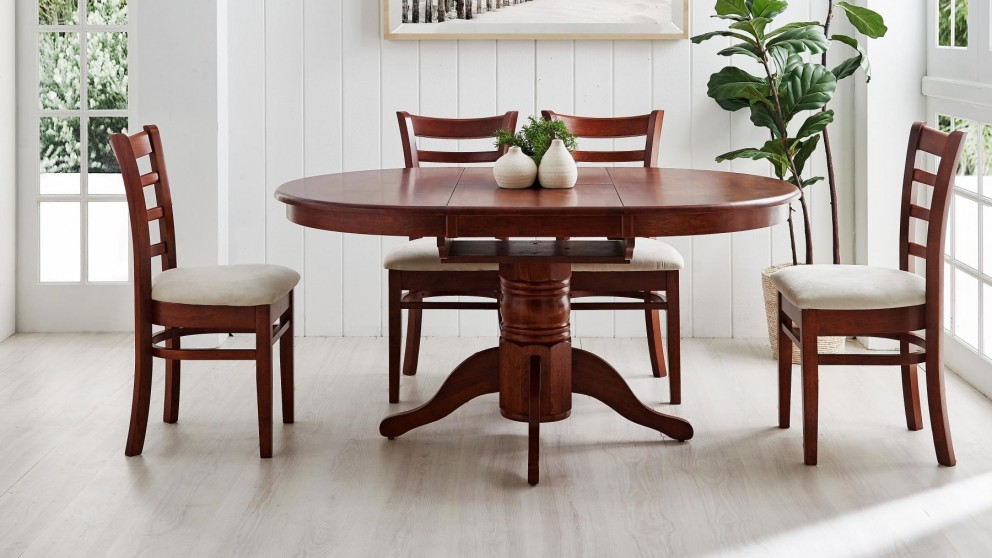 Miller MKII 5-Piece Extension Dining Setting