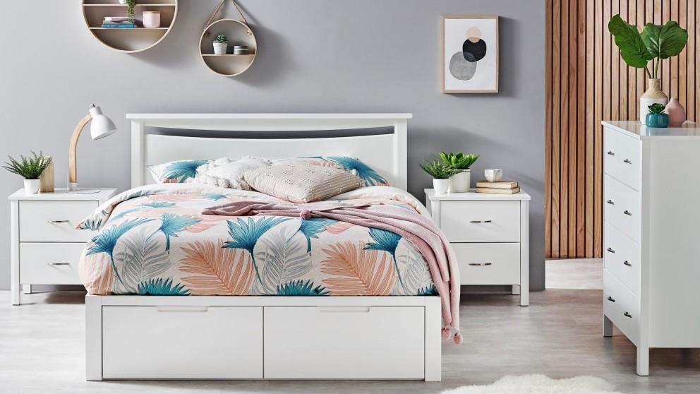 Argo 2-Drawer Queen Bed