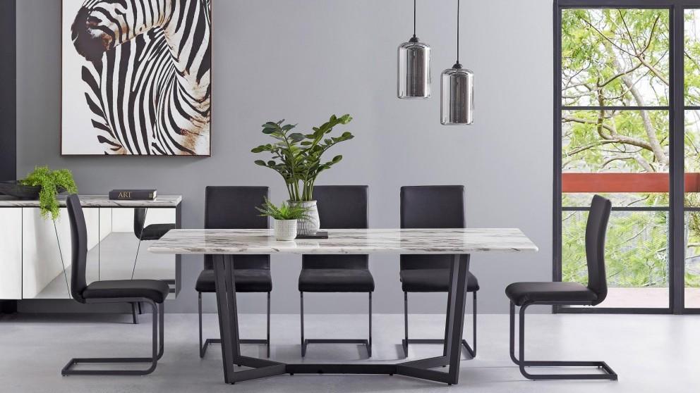 Terrific Buy Rhodes Rectangular Dining Table Harvey Norman Au Home Interior And Landscaping Oversignezvosmurscom
