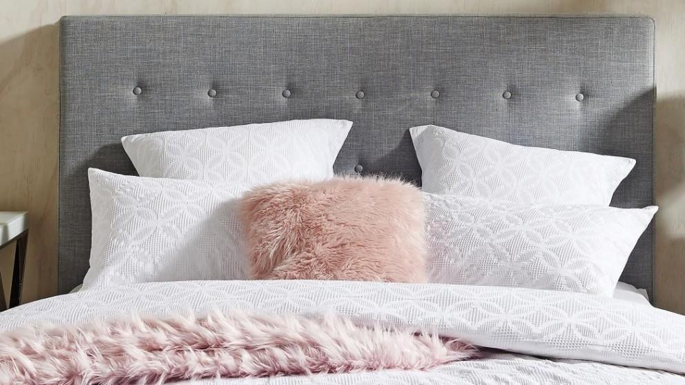 Rumi White European Pillowcase