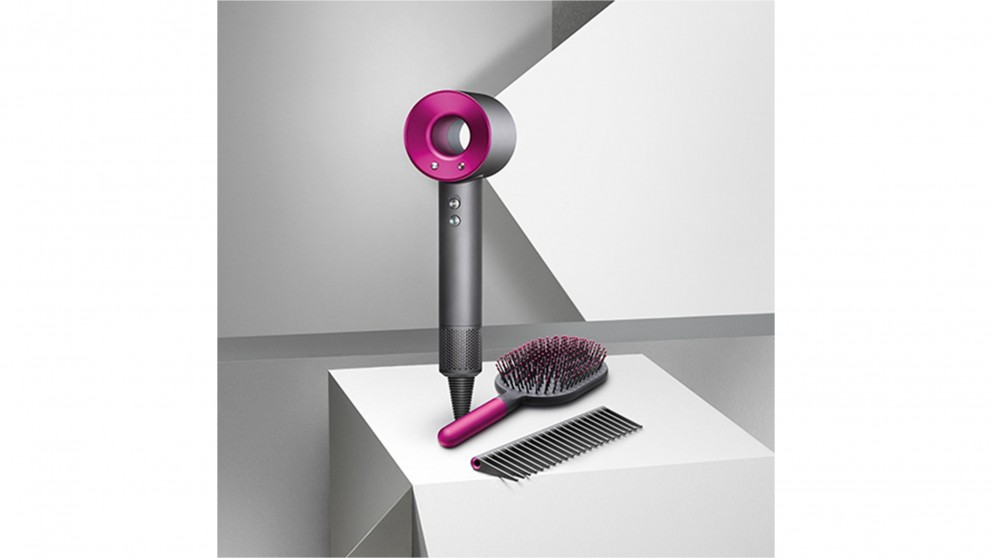Dyson Supersonic Hair Dryer With Brush And Comb   Fushia by Dyson
