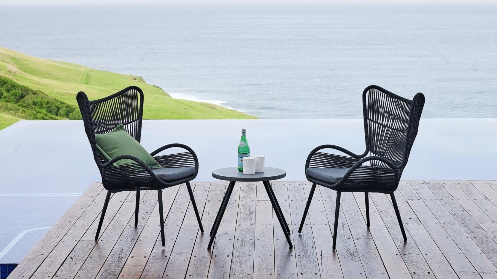 Cool Buy Reef 3 Piece Outdoor Chat Setting Harvey Norman Au Bralicious Painted Fabric Chair Ideas Braliciousco