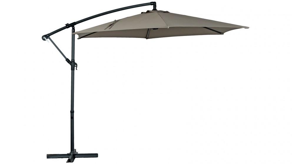 Aton 300cm Octagonal Cantilever Outdoor Umbrella