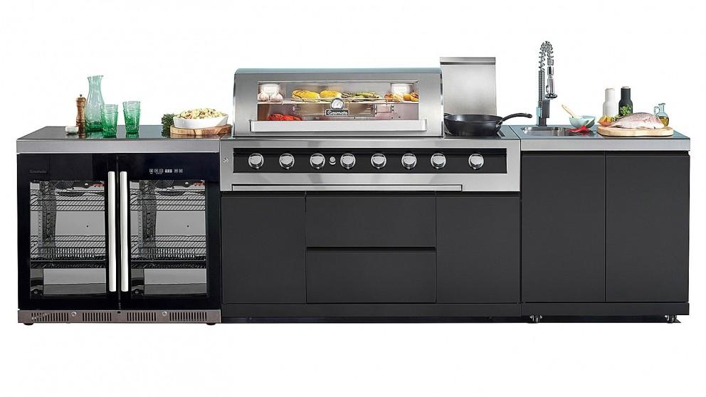 Gasmate Galaxy Black 6 Burner Outdoor Kitchen Bundle 2