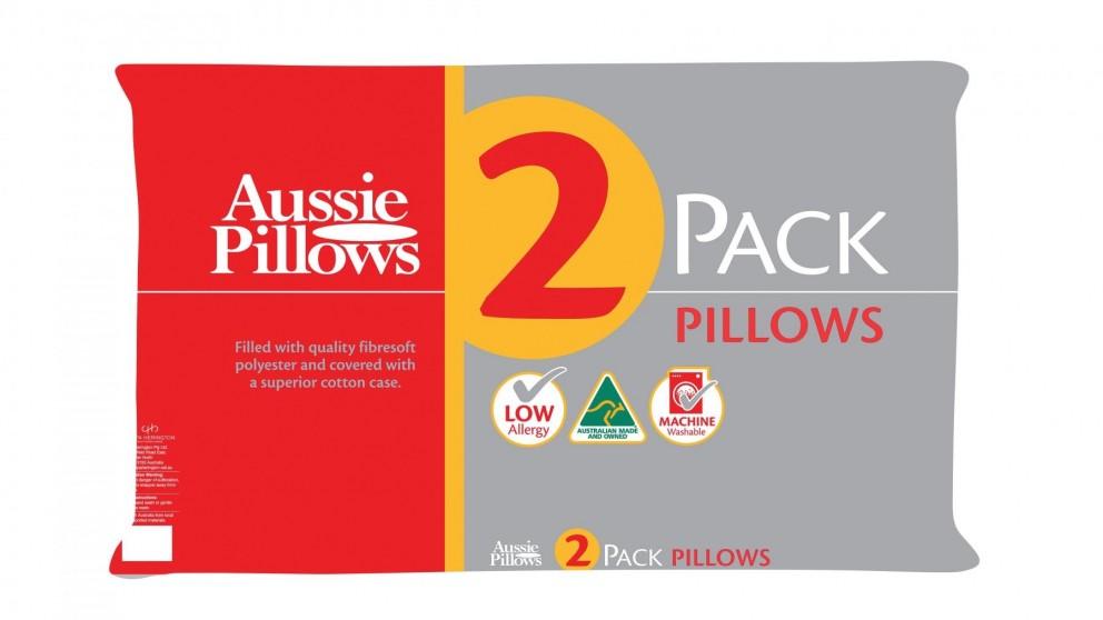 Aussie Medium Pillow Twin Pack