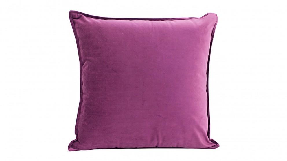 Velvet Purple Cushion