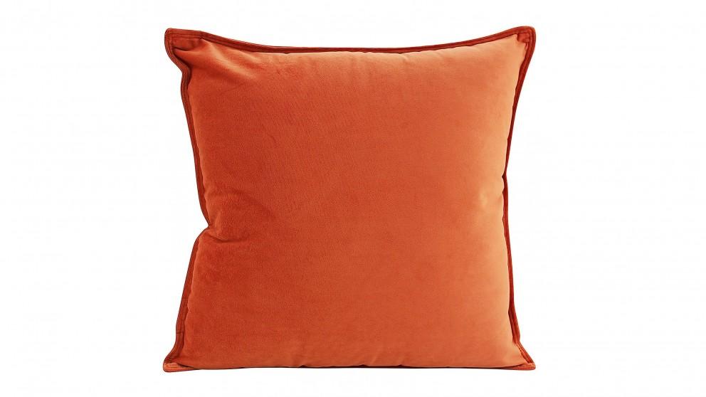 Velvet Orange Cushion