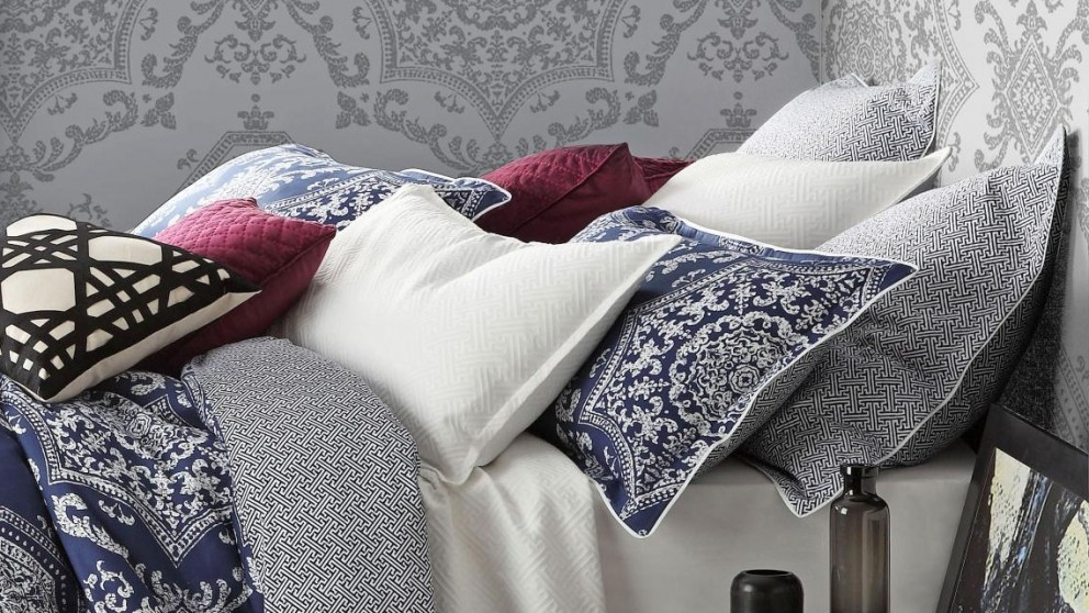 Medallion Indigo European Pillowcase