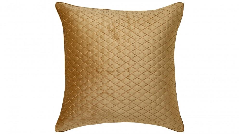 Antique Lattice Gold European Pillowcase
