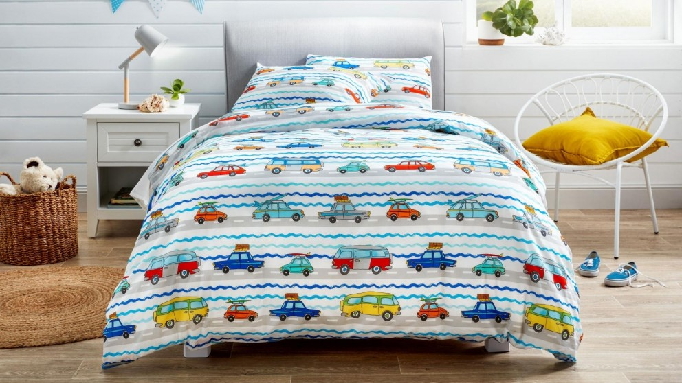 Traffic Cars Quilt Cover Set