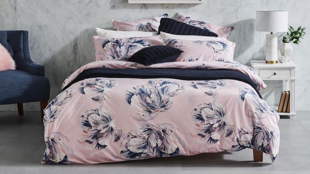 Tullie Blush Quilt Cover Set