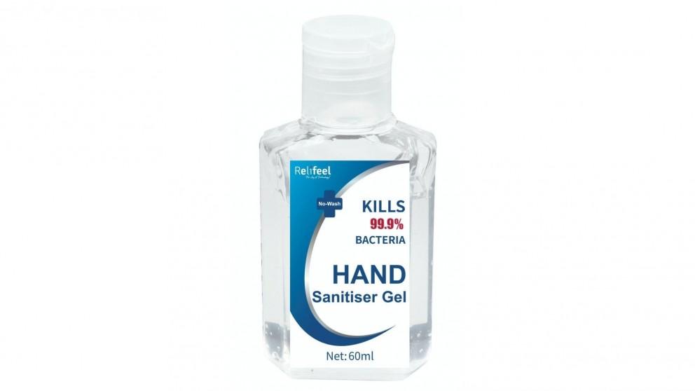 192x 60ml Relifeel Hand Sanitisers
