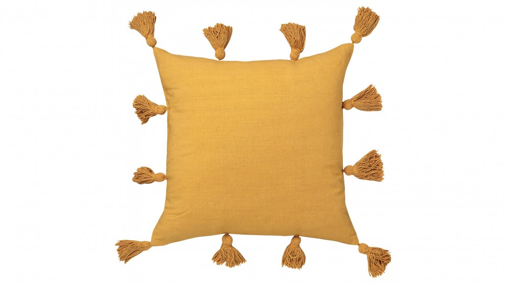 Cayman Square Mustard Cushion