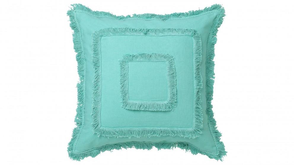 Vista Square Aqua Cushion