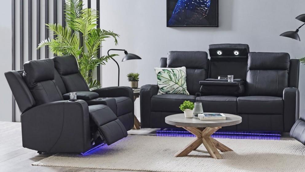 Jordan Leather Powered Recliner Sofa