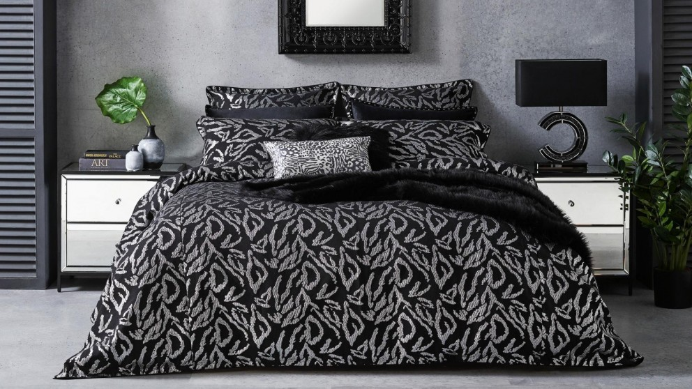 Nico Sterling Quilt Cover Set