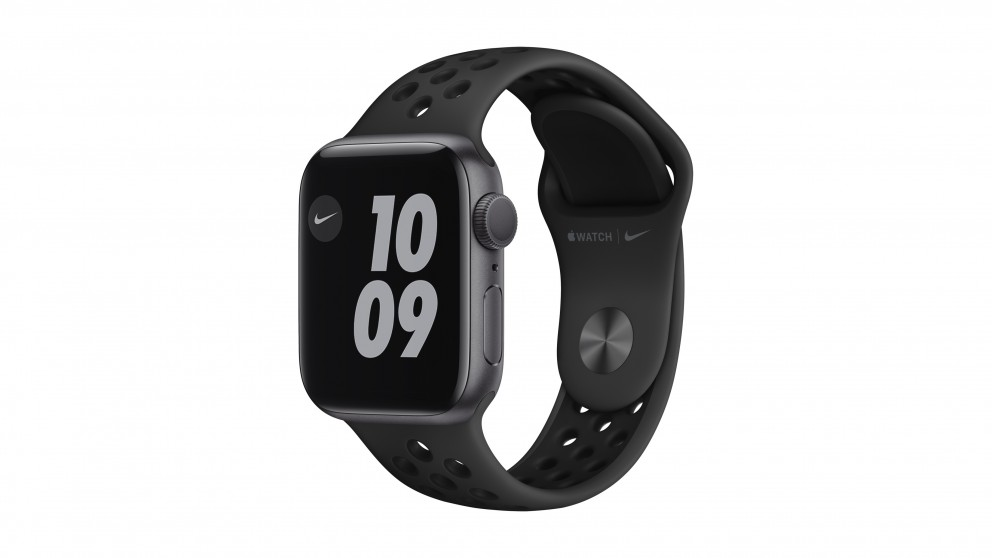 Apple Watch Nike Series 6 44mm Space Grey Aluminium Case with Nike Anthracite Sport Band - GPS