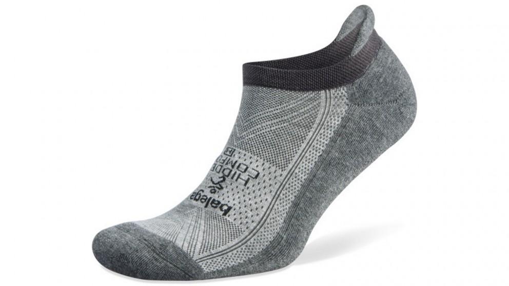 Hidden Comfort No Show Grey/Carbon Socks - Small