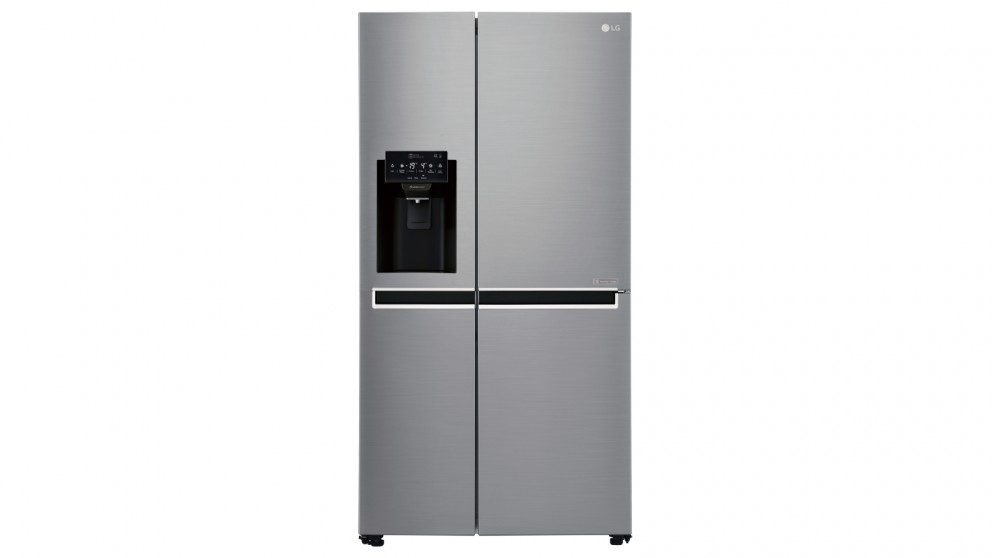 LG 625L Side by Side Fridge with Non Plumbed Ice & Water Dispenser