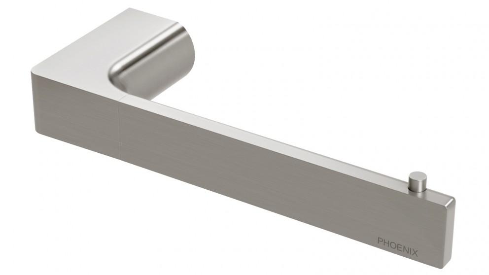 Phoenix Gloss Toilet Roll Holder  - Brushed Nickel
