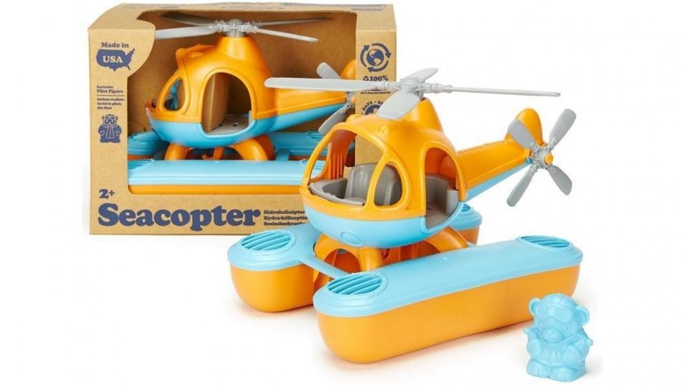 Green Toys Sea Copter - Orange