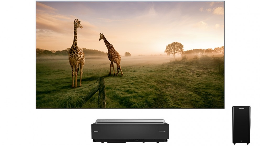 Hisense 100-inch Series L 4K UHD Smart Laser TV